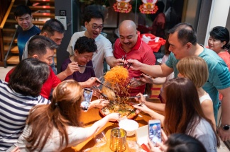 'Lao Yu sheng' to bring an abundance of luck and fortune